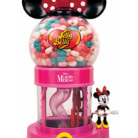 Jelly Belly Disney Minnie Mouse Bean Machine - Holds 23 oz of Jelly Beans!