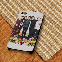 1D One Direction Niall Zayn Liam Louis Floral iPhone 5/s Case - iPhone 4/4s Case - iPhone 5c case, and samsung case