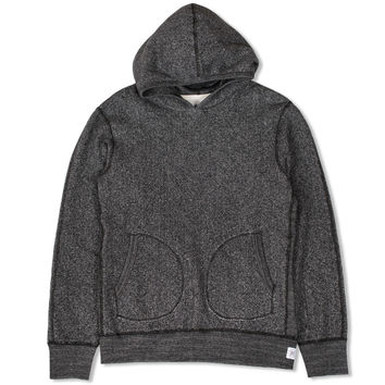 Pull Over Hoodie (Black/Natural)