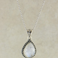 Wild Child Gemstone Pendant Necklace in Sterling Silver