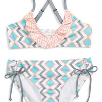 Splendid 'Astoria' Two-Piece Swimsuit (Big Girls) | Nordstrom