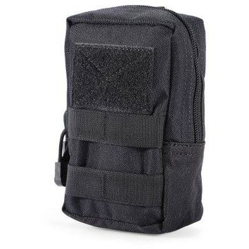 Portable Water-resistant Nylon Waist Bag Mobile Phone Pouch