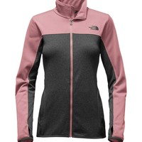 The North Face Amazie Mays Full Zip Jacket for Women in Nostalgia Rose NF0A2THS-MPS