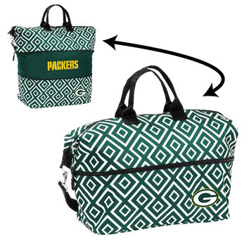 Green Bay Packers NFL Expandable Tote Bag
