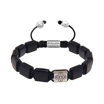 The Dorje Flatbead Collection - Matte Onyx and Silver