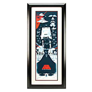 Star Wars The Empire Strikes Back Serigraph by Eric Tan - Framed Limited Edition