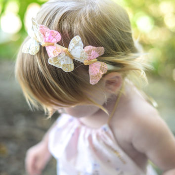 Butterfly Crown, Butterfly Headband, Wanderlust, Woodland, Whimsical Headband, Baby Headband