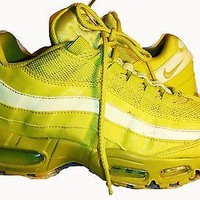 ef57ec880d ... new zealand nike womens air max 95 high voltage sonic yellow 336620 300  sneakers 2011 sz9