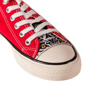 Diy Kit Converse  All Star Skins CIPPCAP  White Tiger Chuck Taylors Shoes  Easy Custom New