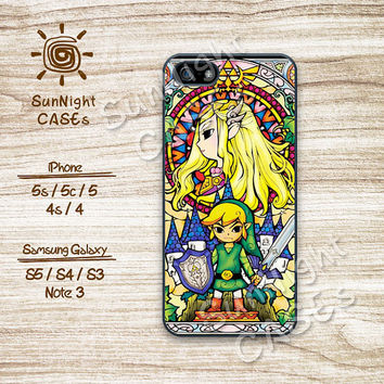 Legend of Zelda, iPhone 5 case, iPhone 5C Case, iPhone 5S case, iPhone 4S Case, Phone Cases, Samsung Galaxy S3, Samsung Galaxy S4