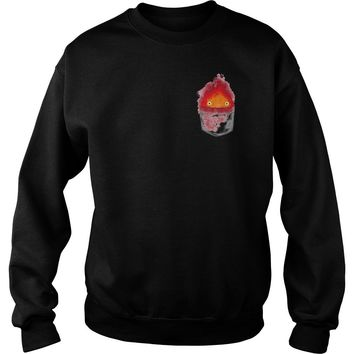 Personal fire demon Calcifer shirt Sweat Shirt