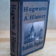 Hogwarts A History book from Harry Potter in by LittleWooStudio
