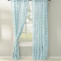 Aqua Darby Curtain Panel Set, 96 in. | Kirklands