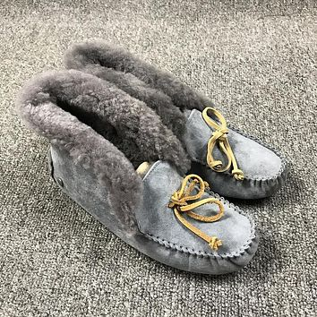 UGG Slippers ALENA Women SEAL Shoes 1004806