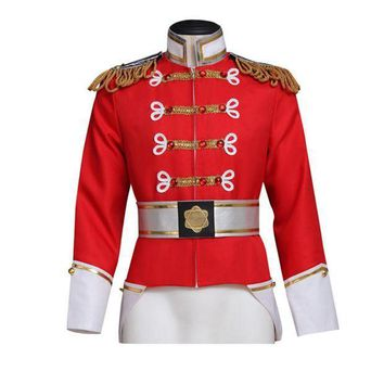 CREY6F Barbie in the Nutcracker King Eric Jacket Costume Adult Men's Coat Cosplay Custom Made