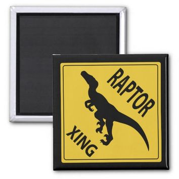 Raptor Xing 2 Inch Square Magnet