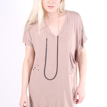 Easy Breezy Tunic - Beige