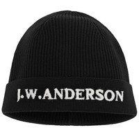BLACK J.W.ANDERSON BEANIE - Accessories - mens