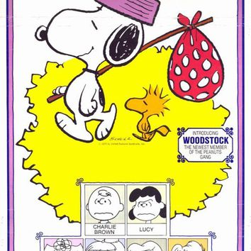 Snoopy Come Home 14x36 Movie Poster (1972)