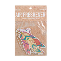 Multicolor Feathers Car Air Freshener