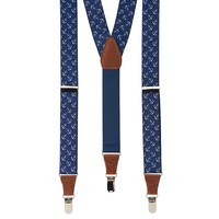 Wembley Anchors Stretch Suspenders - Men, Size: One Size (Blue)