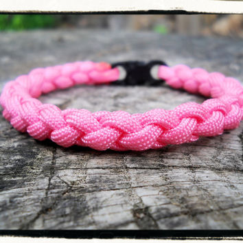 Light Pink Braided Bracelet