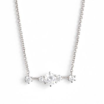 Nadri Edwardian Crystal Bar Necklace | Nordstrom