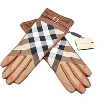 Burberry Women's 'Bridle House Check' Gloves