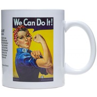 SMITHSONIAN ROSIE THE RIVETER COFFEE MUG - Sourpuss Clothing