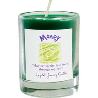 Soy Herbal candle for Money