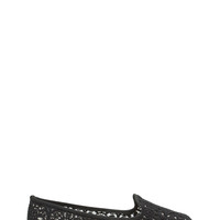 Sheer Competition Lace Smoking Flats