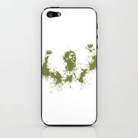 Jo-Wilfried Tsonga Wimbledon Tennis iPhone & iPod Skin by DanielBergerDesign