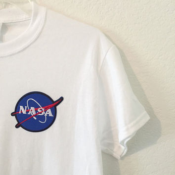 Embroidered NASA Tee / Shirt