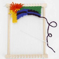 Peg Loom DIY Weaving Kit- Multi One