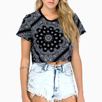 Hanky Crop Top $26