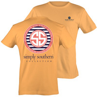 Simply Southern Preppy Southern Tie That Binds Us SS Logo T-Shirt