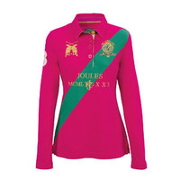 Joules Roselle Long Sleeve Polo | Dover Saddlery