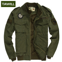 TAWILL 2016 Military jean Army tactical bomber Men Jackets Coats Autumn Air force one Casual men's jacket Brand Clothing 336