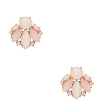 Kate Spade Care To Dance Studs Light Pink ONE