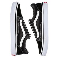 Vans Classic Old Skool Popular Women Men Casual Canvas Flats Sneakers Sport Shoes Black I