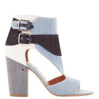 Laurence Dacade Rush Multi Denim High Heel Sandals - INTERMIX®