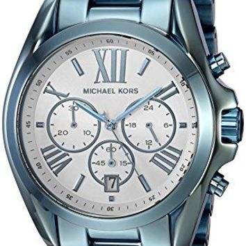 Michael Kors Women's 43mm Bradshaw Cerulean-Tone Watch