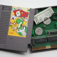 Nintendo Game Secret Stash Box Playable Yoshi by StartSelectStash