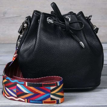 Guitar Strap Bucket Bag