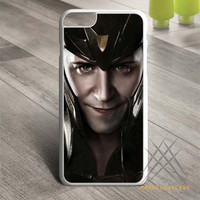 Loki Tom Hiddleston Face The Avengers Custom case for iPhone, iPod and iPad