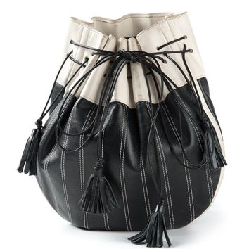 Yves Saint Laurent Vintage Contrast Bucket Bag