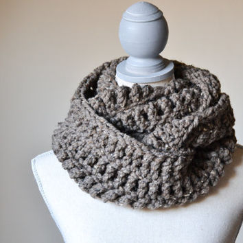 Barley Infinity Scarf - Made to Order - FREE SHIPPING