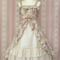 Rose Lace Classical Bouquet Dress