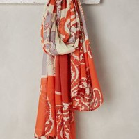 Honeymoon Scarf by Anthropologie in Orange Size: One Size Scarves