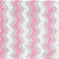 Zig Zag Pink Rug by The Rug Market